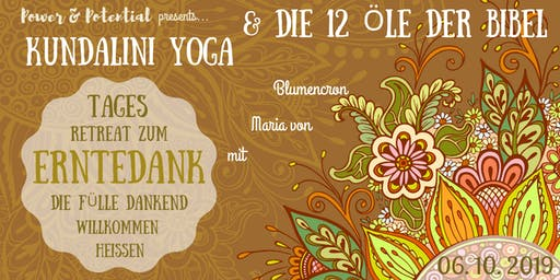 POWER-Tages-Retreat zu Erntedank mit Kundalini-Yoga und ätherischen Ölen