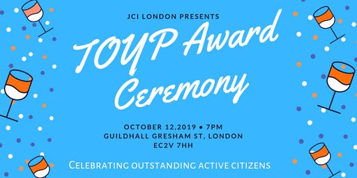 JCI London Ten Outstanding Young Persons Award Ceremony