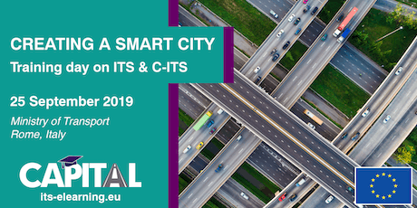 """Creating a Smart City"" Training Day on ITS and C-ITS biglietti"