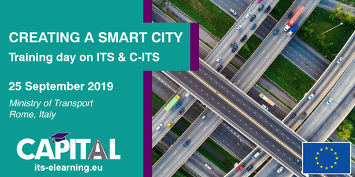 """Creating a Smart City"" Training Day on ITS and C-ITS"