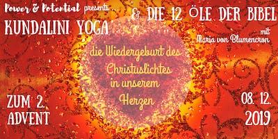 Kundalini-Yoga Retreat zum 2. Advent mit ätherischen Ölen