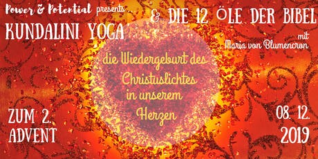 Kundalini-Yoga Tages-Retreat zum 2. Advent mit ätherischen Ölen Tickets