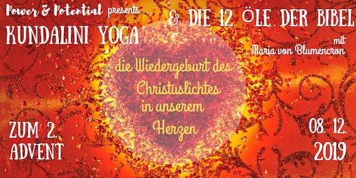 Kundalini-Yoga Tages-Retreat zum 2. Advent mit ätherischen Ölen