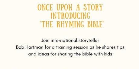 Storytelling with Bob Hartman tickets
