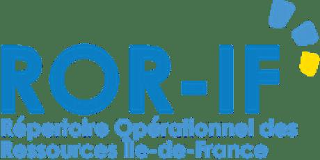 """FORMATION """"Répertoire Opérationnel des Ressources"""" ROR billets"""