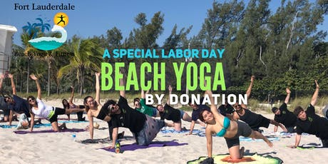 Labor Day Beach Yoga by Donation tickets