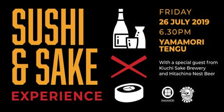 Sushi, Sake and Craft beer Experience.  tickets