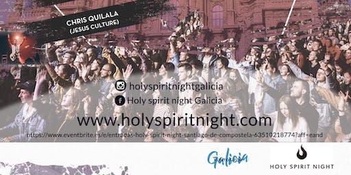 Holy spirit night Santiago de Compostela