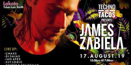 Techno & Tacos with James Zabiela tickets