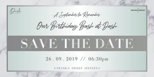 A September to Remember: Downtown's Birthday Bash at Dash