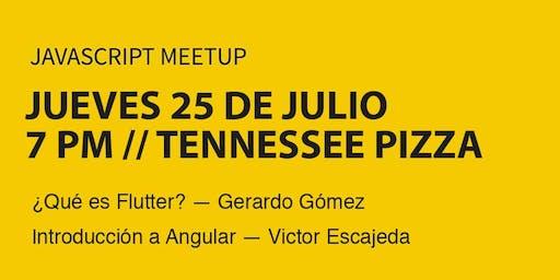 Sexto Meetup de JavaScript
