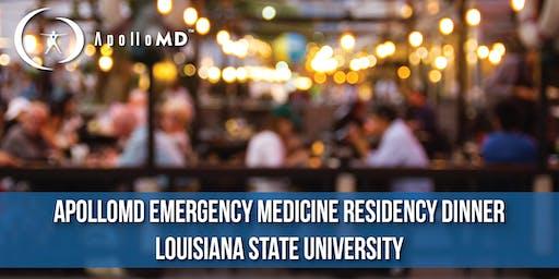 ApolloMD Emergency Medicine Residency Dinner | Louisiana State University