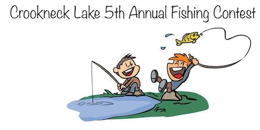 Crookneck Lake 2019 Kids Fishing Contenst