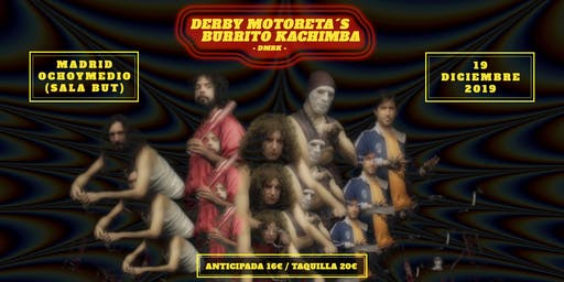 DERBY MOTORETA´S BURRITO KACHIMBA en Madrid (Ochoymedio)