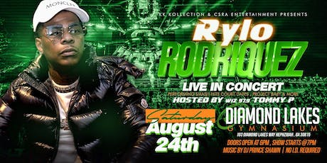 "RYLO RODRIQUEZ  LIVE IN CONCERT/ NO ID REQUIRED"" tickets"