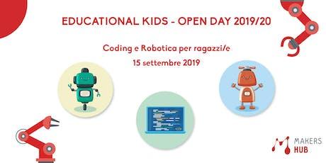 Educational Kids - OPEN DAY 2019/20 biglietti