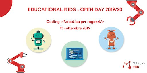 Educational Kids - OPEN DAY 2019/20