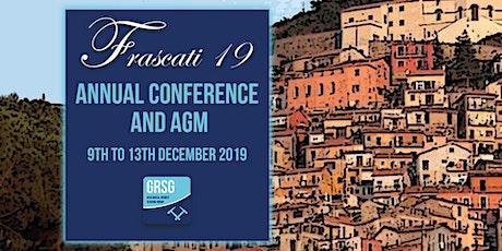 GRSG Annual Conference & AGM 2019 biglietti
