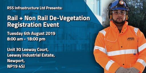 Rail + Non Rail De-Vegetation Registration Event