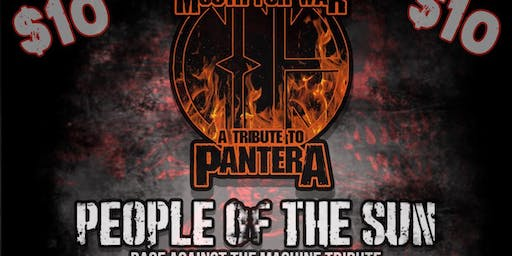 Pantera/Rage Against the Machine/Limp BizkitTributes
