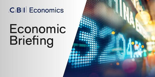 Economic Briefing with CBI Chief Economist