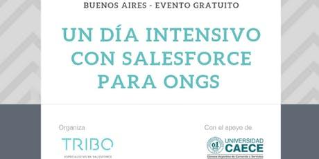 Un día intensivo con Salesforce para ONGs entradas