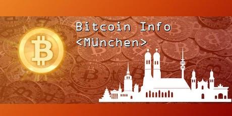 """Bitcoin Info"""" München Tickets"""