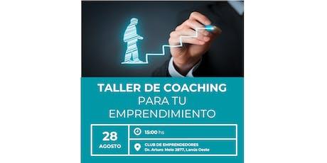 Taller de Coaching Organizacional entradas