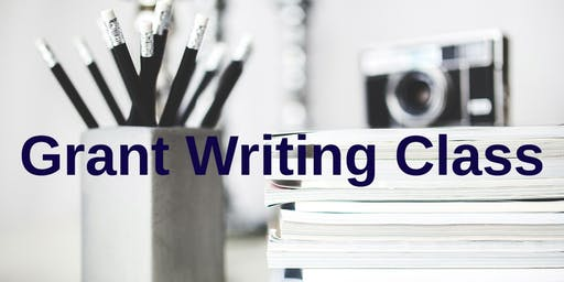 Grant Writing Class for Beginners