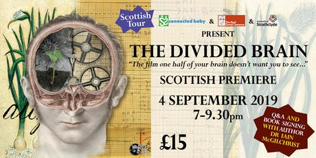 """The Divided Brain"" - Scottish Premiere - Glasgow tickets"