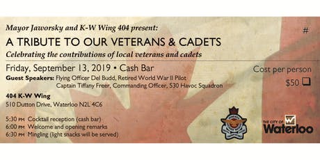 Mayor Jaworsky & Wing 404 Present: A Tribute to our Veterans and Cadets tickets
