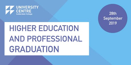 Calderdale College Higher Education and Professional Graduation tickets