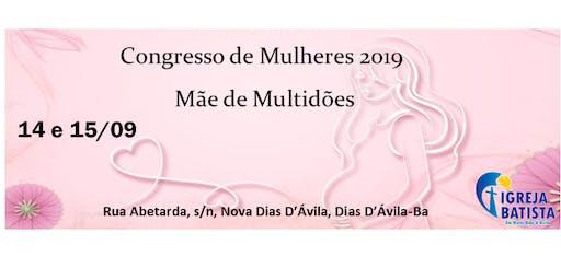 Congresso de Mulheres 2019- Mãe de Multidões