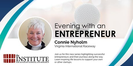 Evening with an Entrepreneur - Connie Nyholm tickets