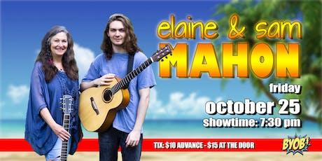 Elaine and Sam Mahon tickets