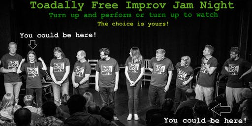 Box of Frogs Toadally Free Improv Comedy Jam