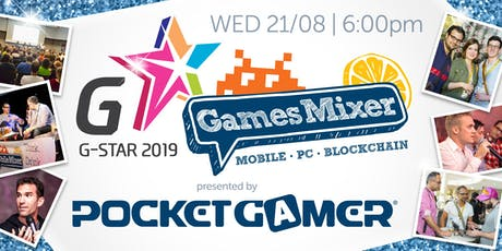 G-STAR Games Mixer 2019 presented by Pocket Gamer tickets