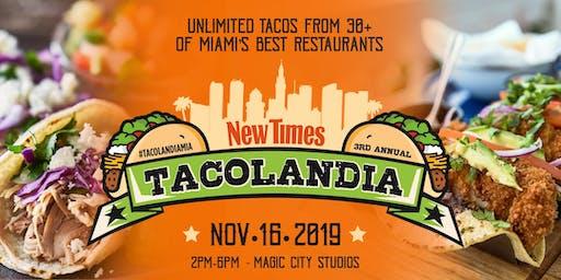 Miami New Times' Tacolandia 2019