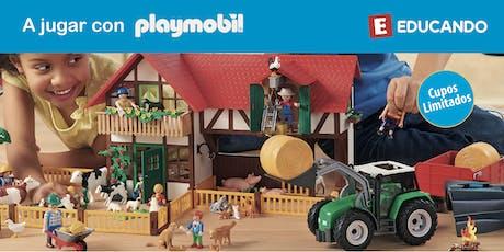 ¡A jugar con Playmobil! en Jugueterías Educando entradas
