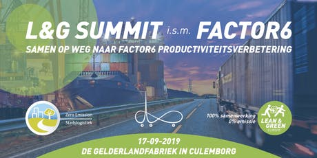 Lean & Green Summit i.s.m. Factor 6 tickets