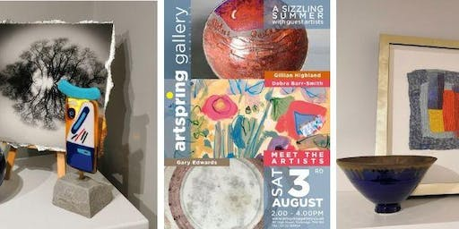 Enjoy a Glass of Fizz and Chat with the Artists at ArtSpring Gallery