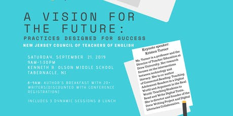 NJCTE Fall Conference 2019: A Vision for the Future tickets