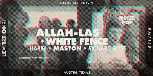 ALLAH-LAS • WHITE FENCE • & MORE