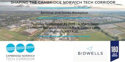 Shaping the Cambridge Norwich Tech Corridor Seminar