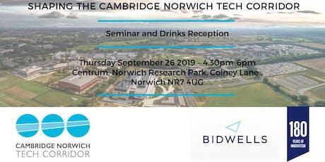 Shaping the Cambridge Norwich Tech Corridor Seminar tickets