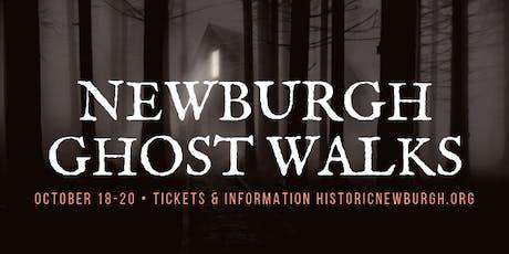Historic Newburgh Ghost Walks - Friday, October 18, 2019 tickets