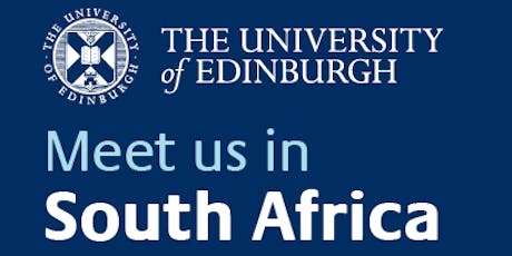 University of Edinburgh Information Session: Johannesburg tickets
