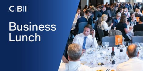 CBI Business Lunch - Hertfordshire tickets
