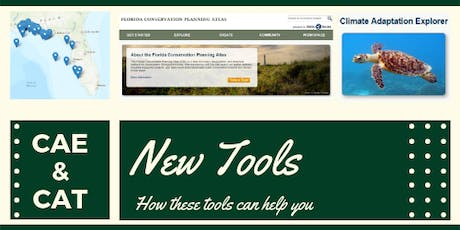 New Tools Available on the Florida Conservation Planning Atlas tickets