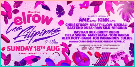 elrow Barcelona - Las Filipinas entradas